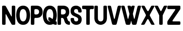 Blackcode Sans Clean Font LOWERCASE