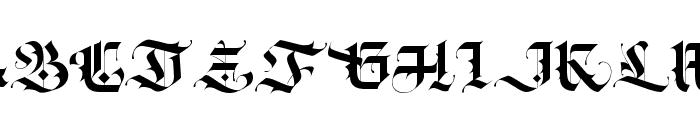 Blackey Alt Two Font UPPERCASE