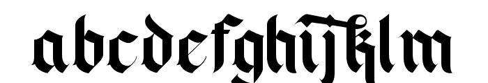 Blackey Alt Two Font LOWERCASE