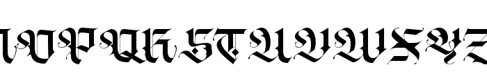Blackey Alt Font UPPERCASE