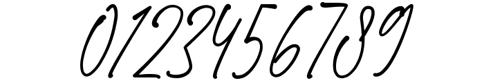 Blackstand Font OTHER CHARS