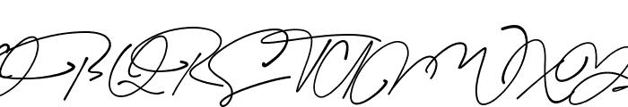 Blackstand Font UPPERCASE