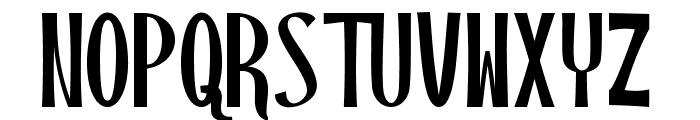 Blackstore Three Version  Font UPPERCASE