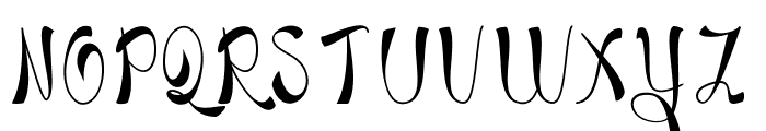 Blackstore True Version Font LOWERCASE