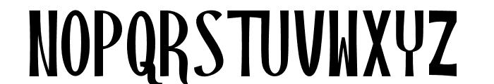 BlackstoreThreeVersion Font UPPERCASE