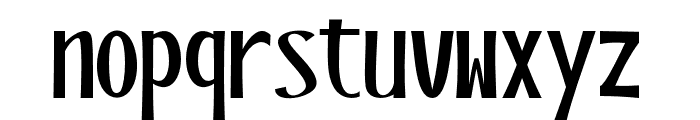 BlackstoreThreeVersion Font LOWERCASE