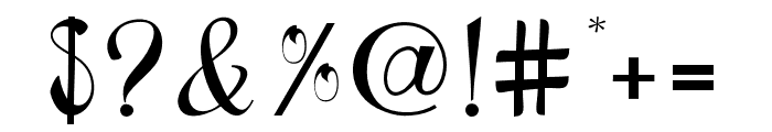 BlackstoreTrueVersion Font OTHER CHARS