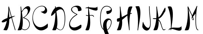 BlackstoreTrueVersion Font UPPERCASE