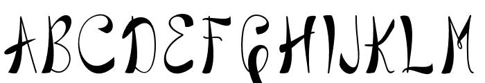 BlackstoreTrueVersion Font LOWERCASE