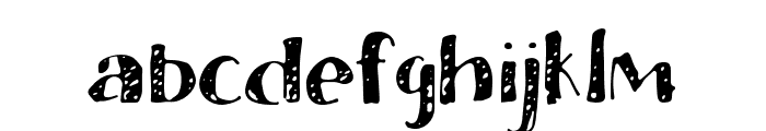 BlessedPrint-DraftCheese Font LOWERCASE