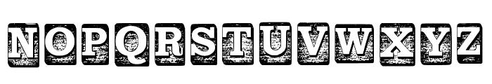 Blockletters Regular Font UPPERCASE