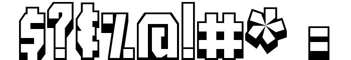 Blockt Font OTHER CHARS