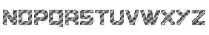 Blok-Lined Font UPPERCASE