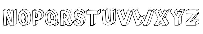 BlokParty Font UPPERCASE