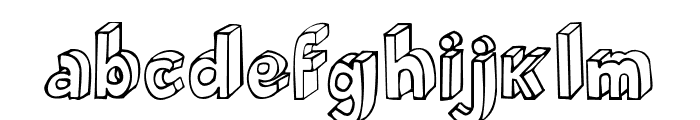 BlokParty Font LOWERCASE