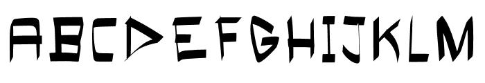Bloke Bold Font UPPERCASE