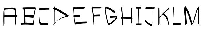 Bloke Light Font UPPERCASE