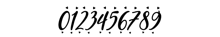 Blueberry Love Font OTHER CHARS