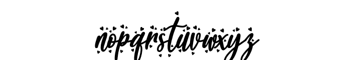 Blueberry Love Font LOWERCASE