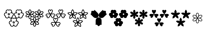 Blueberry Ornaments Font OTHER CHARS