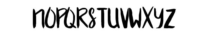 Blueberry Font UPPERCASE