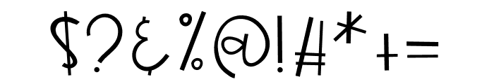 BlueberryLemonade Font OTHER CHARS