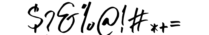 BluesCoast-Regular Font OTHER CHARS