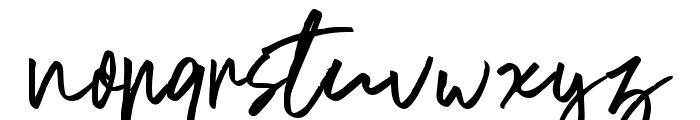 BluesCoast-Regular Font LOWERCASE