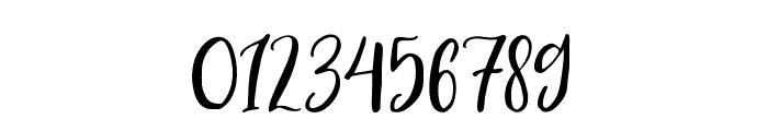 BlusherScript Font OTHER CHARS
