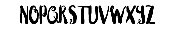 Blushingly (Hollow hearts) Font UPPERCASE