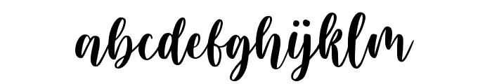 Blushring Font LOWERCASE