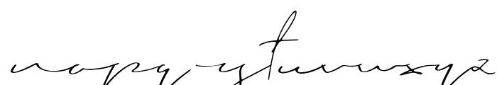 Blushy Regular Font LOWERCASE