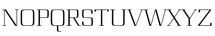 Board regular Font UPPERCASE
