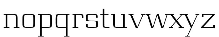 Board regular Font LOWERCASE