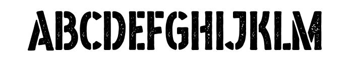 Boedimant Font UPPERCASE