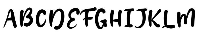 Bomom Font UPPERCASE