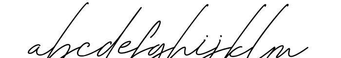 Bonbaste Script Font LOWERCASE