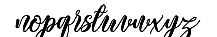 BonetyLady Font LOWERCASE