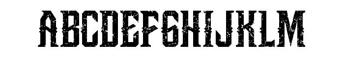 Bongoknian-Grunge Font UPPERCASE