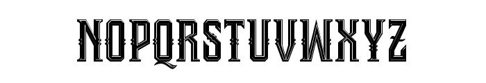 Bongoknian-Inline Font LOWERCASE