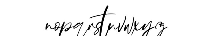 Bonyca Font LOWERCASE