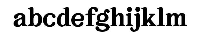 Bookman Serif Font LOWERCASE