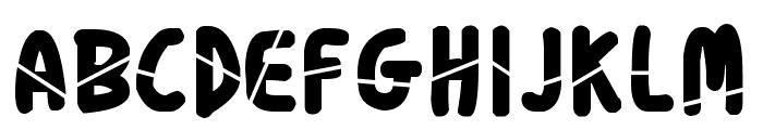 Boprado Extra Font LOWERCASE