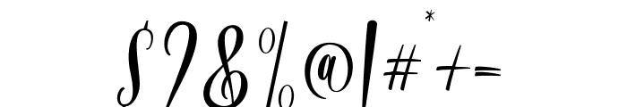 Bordellia Font OTHER CHARS