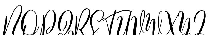 Bordellia Font UPPERCASE