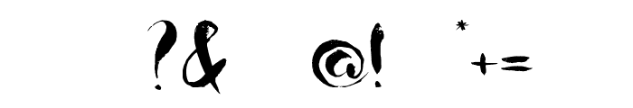 Boriska grunge watercolor font Font OTHER CHARS