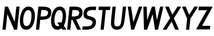 BosqueSlantBold Font UPPERCASE