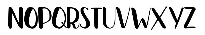 Bradley Normal Bold Font UPPERCASE