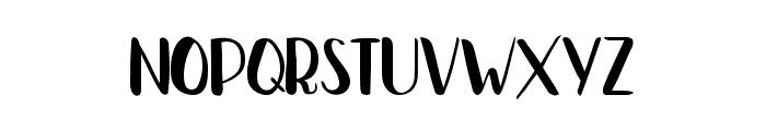 Bradley Normal Bold Font LOWERCASE
