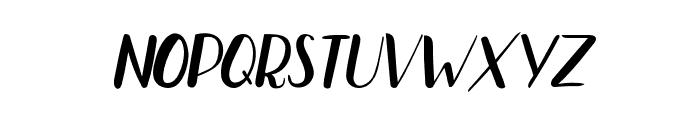 Bradley Normal Normal Italic Font LOWERCASE